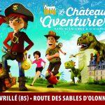 château des aventuriers avec énigmes et escape game à Avrillé