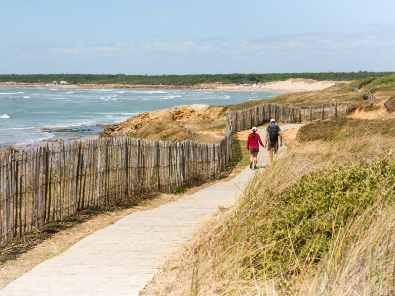 La Pointe du Payré à Jard sur mer - Crédit Photo© Office de Tourisme Destination Vendée Grand Littoral