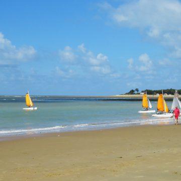 Nautisme à Longeville sur mer - Crédit Photo© Office de Tourisme Destination Vendée Grand Littoral