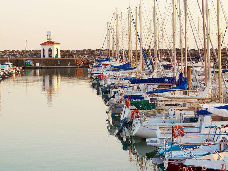 Talmont Saint Hilaire, port bourgenay. Crédit photo© : A.Lamoureux