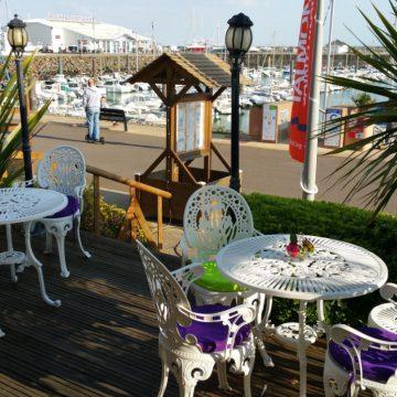 Blé Noir à Talmont-Saint-Hilaire, port Bourgenay terrasse restaurant