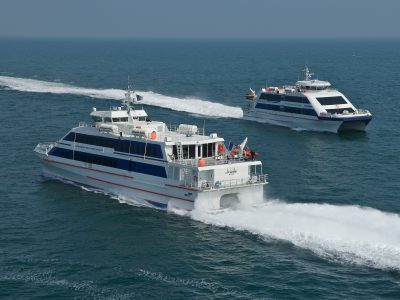 Yeu continent bateau vers l'île d'Yeu