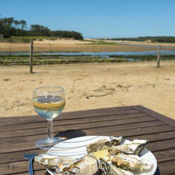 Assiette d'huîtres de la Guittière - ©V. Joncheray