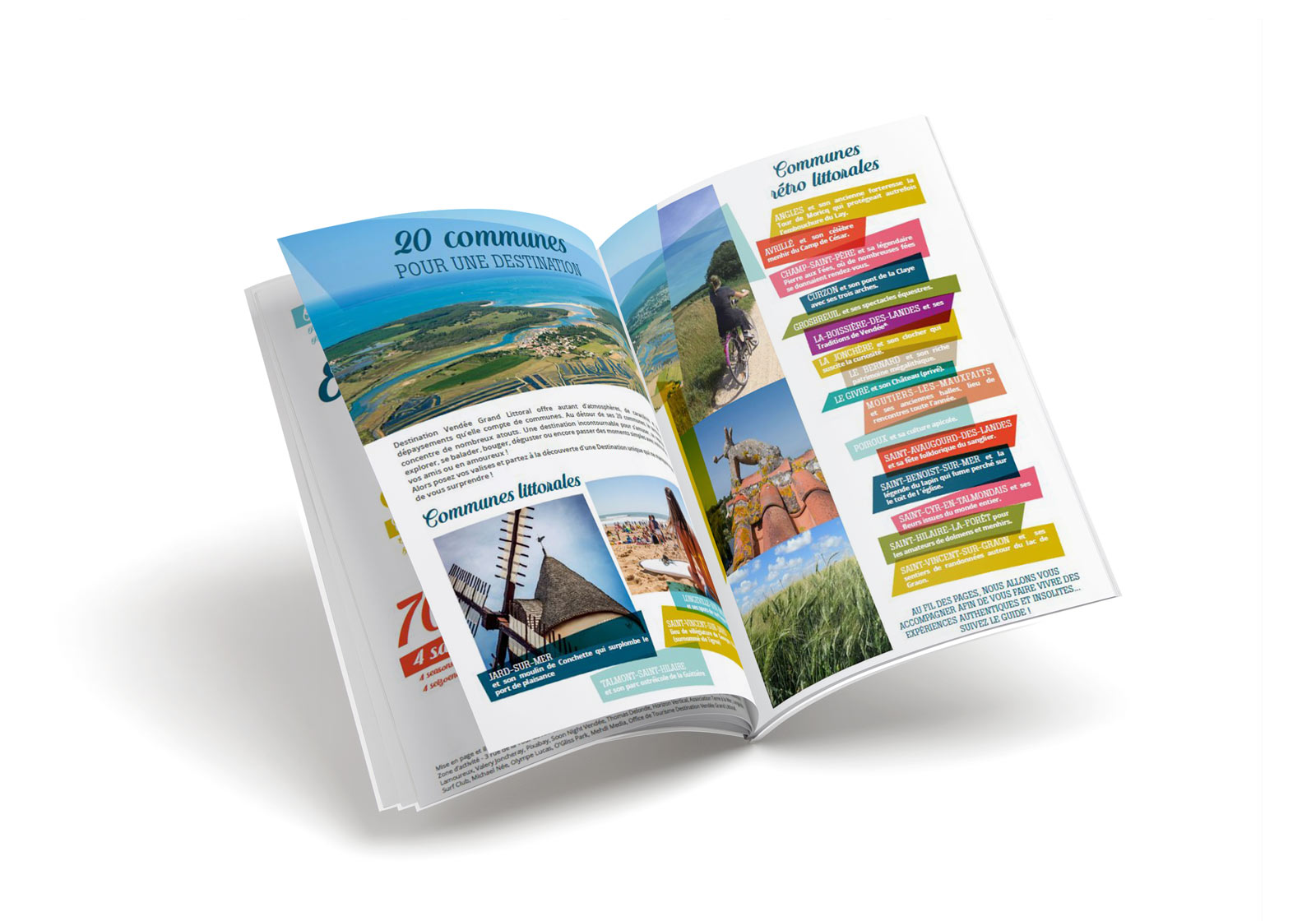 Brochure Destination Vendee Grand Littoral