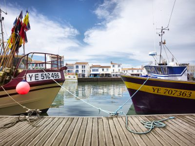 Port de la Joinville à l'île d'Yeu, Vendée Expansion - Crédit Photo : ©A. Lamoureux