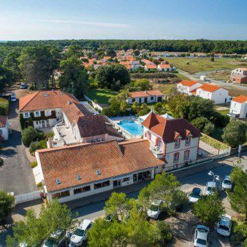 Hôtel de l'Océan à Saint Vincent-sur-Jard - ©Horizon Vertical