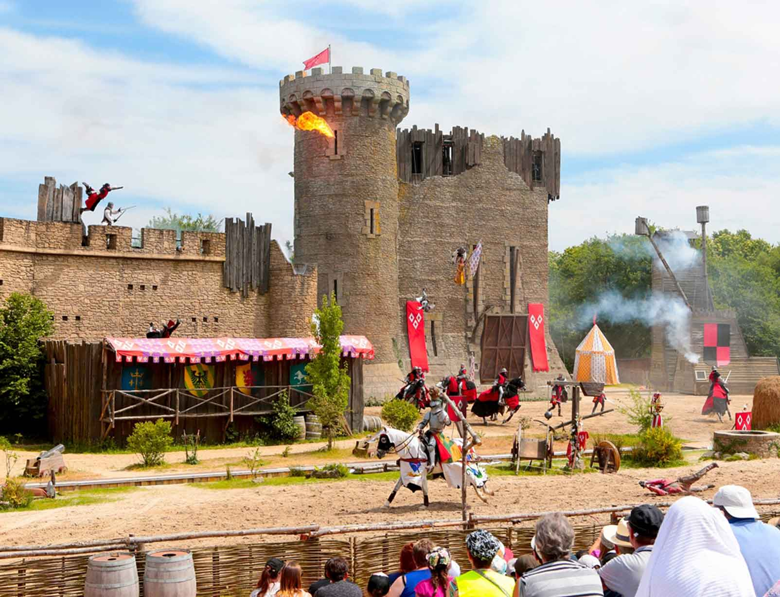 Puy du Fou, spectacle le secret de la lance - Crédit photo : Puy du Fou