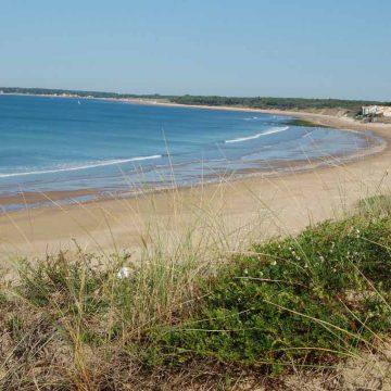 Plage conches Longeville sur Mer crédit destination vendée grand littoral