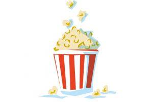 Pop Corn au cinéma Crédit dessin © MARCELINE Communication