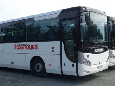 Sovetours - Bus Jard-sur-Mer, Longeville-sur-Mer, Talmont-Saint-Hilaire ©Sovetours
