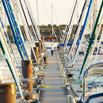 Port Bourgenay à Talmont Saint Hilaire - ©A. Lamoureux