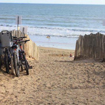 Vélo plage Longeville-sur-Mer ©Destination VendéeGrand Littoral