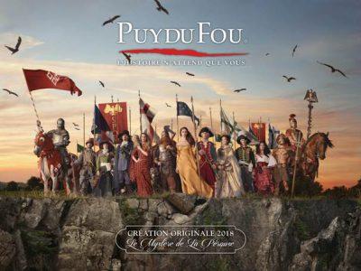 Puy du fou 2018 - Crédit Photo : ©Puy du Fou