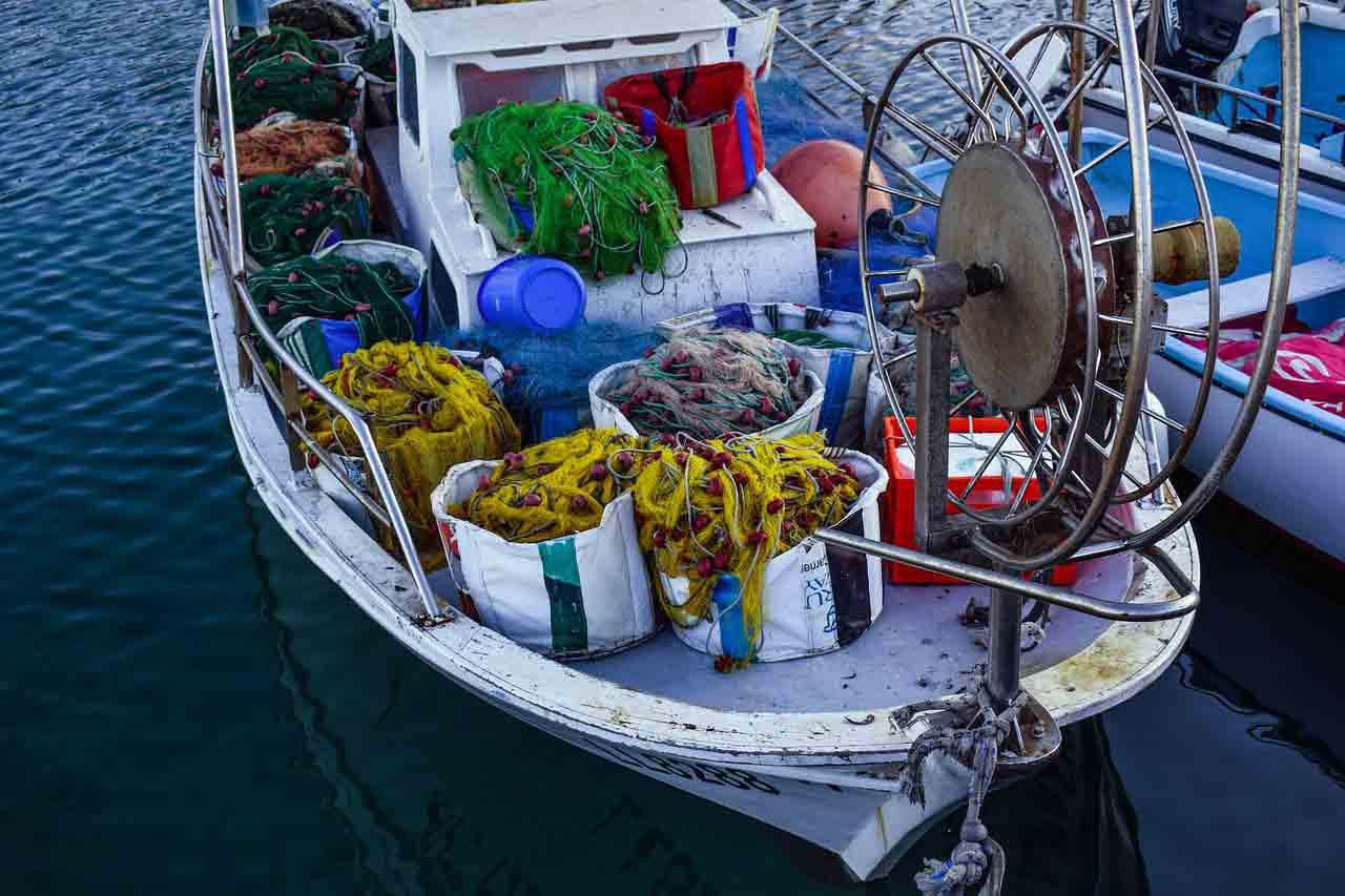 Bateau de pêche traditionnel