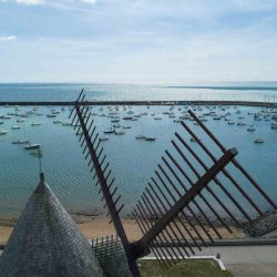 Jard-sur-Mer - Port de plaisance - Moulin de Conchette Légende