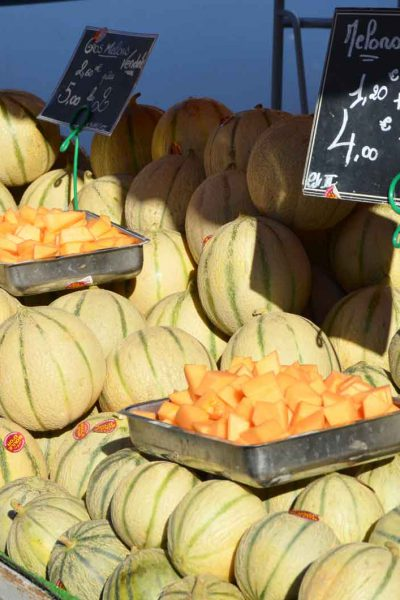 Marché Angles Melons