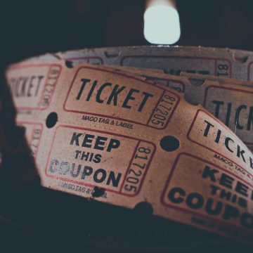 Ticket pour la billetterie