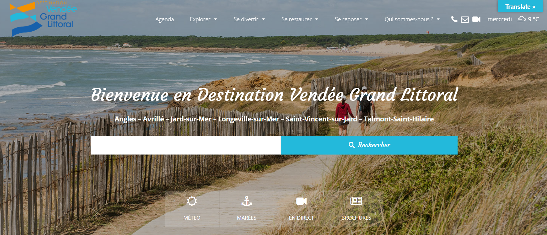 Office de tourisme destination vend e grand littoral - Office de tourisme de longeville sur mer ...