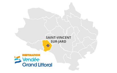 Situation Saint-Vincent-sur-Jard en Vendée Grand Littoral