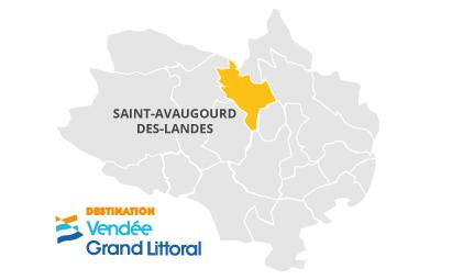 Cartographie Saint-Avaugourd-des-Landes