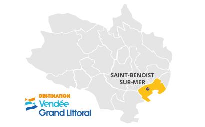 Cartographie de Saint-Benoist-sur-Mer