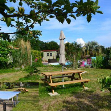 Chambres d'hôtes Talmont-Saint-Hilaire Le plein air jardin