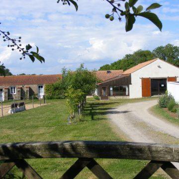 Gîte Saint-Vincent-sur-Jard Maraichin Grange