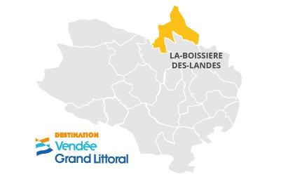 Cartographie La Boissière-des-Landes