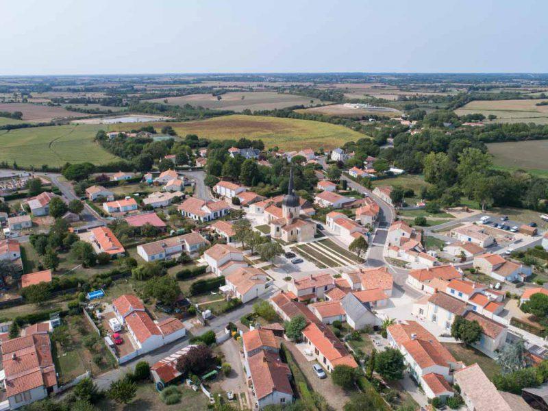 Ville de la Jonchère - ©Horizon Vertical