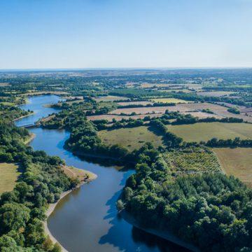 Lac de finfarine à Poiroux - @Horizon Vertical