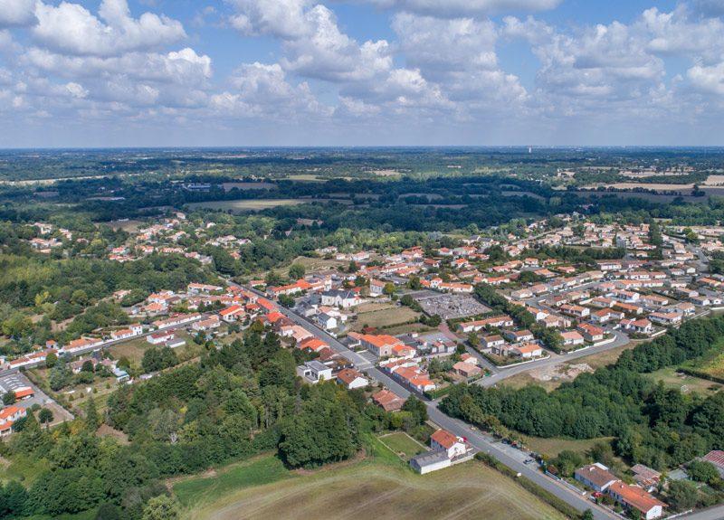 Le Bourg de Saint-Avaugourd-des-Landes