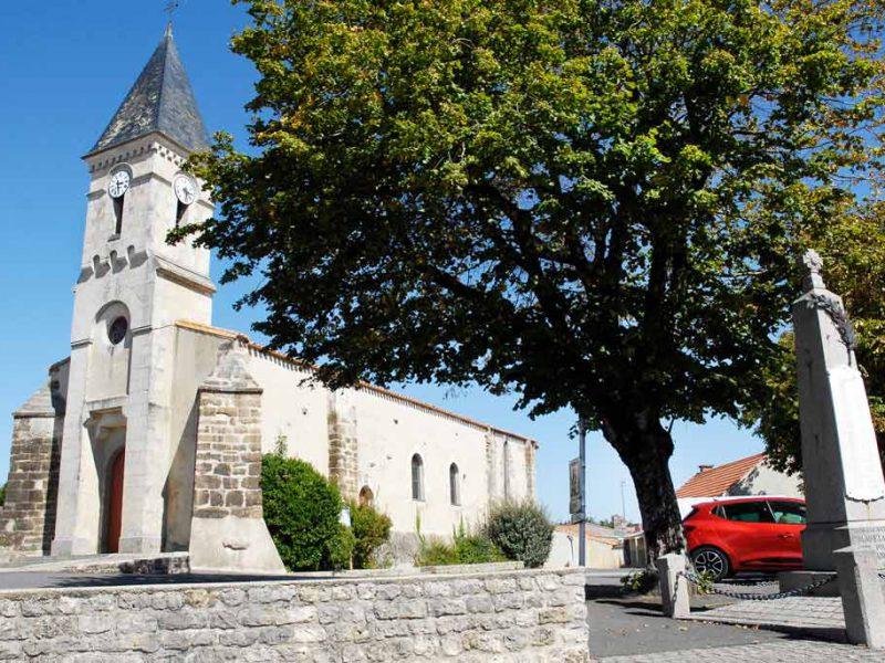 Eglise de Saint-Hilaire-la-Foret