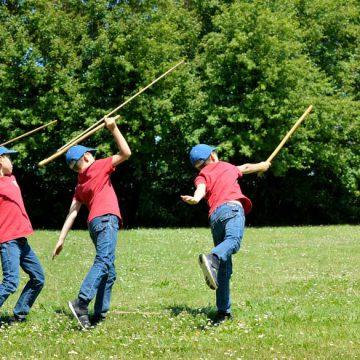 Saint-Hilaire-la-Foret, le Cairn tir à l'arc