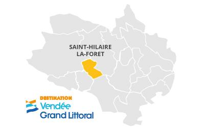 Cartographie de Saint Hilaire la forêt