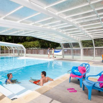 Camping Le Paradis - Talmont-Saint-Hilaire avec piscine couverte