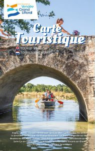 Carte touristique 2019 de l'Office de Tourisme Destination Vendée Grand Littoral