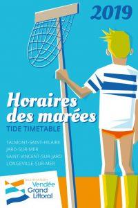 Horaires des marées 2019 de l'Office de Tourisme Destination Vendée Grand Littoral