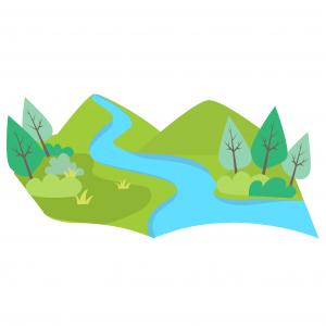 rivière - crédit dessin : Sophie Duprat Caouré