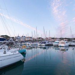 Photo du port Bourgenay,port de la commune de Talmont Saint Hilaire en Vendée