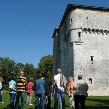 Visite de la Tour de Moricq à Angles