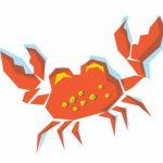 Crabe - crédit dessin : Marcelien Communication
