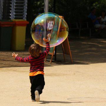 Kermesse enfant bulles