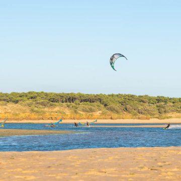 Photo de kitesurf au Veillon