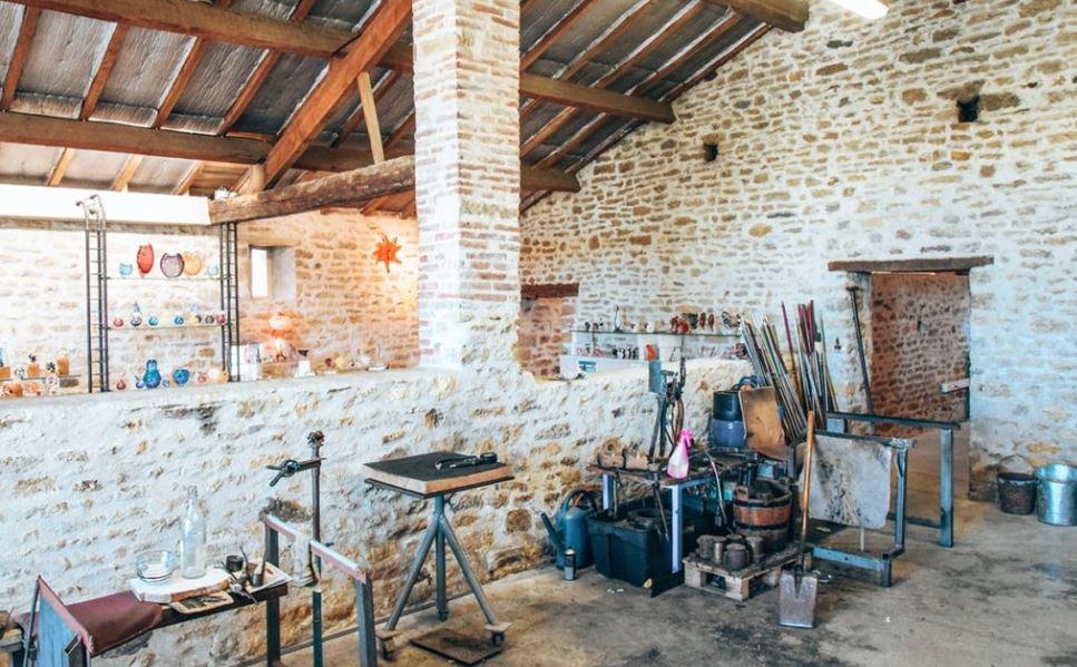 Atelier du souffleur de verre de Bourgenay