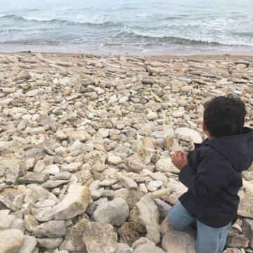 Plage Jard-sur-Mer galets