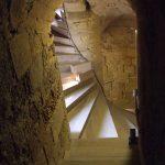 Escalier du château de Talmont-Saint-Hilaire