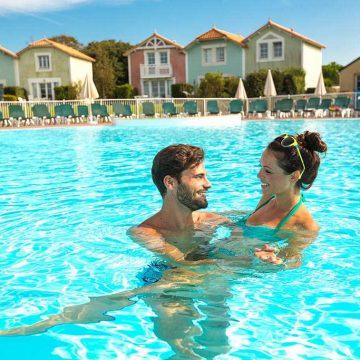 Villages vacances Talmont-Saint-Hilaire Pierre et Vacances piscine extérieure chauffée