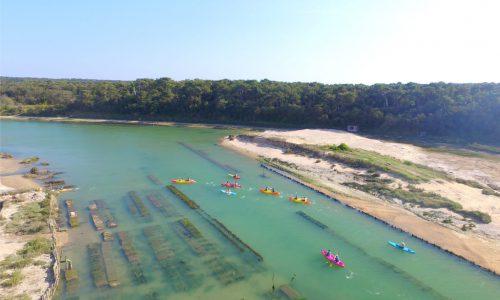 Canoë kayak Entre Terre et Mer à Talmont Saint Hilaire