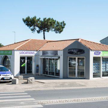 Agence immobilière La Tanche-sur-Mer Millet vacances