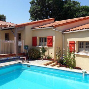 Chambre d'hôtes Le Givre avec patio madone et piscine sécurisée